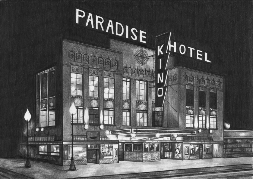The Paradise Hotel by Night