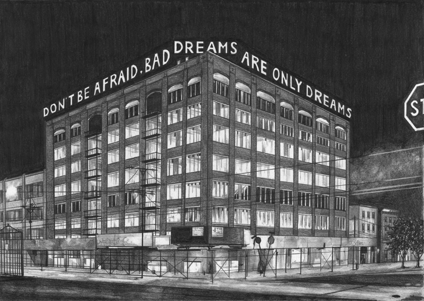 The Harper Department Store by Night